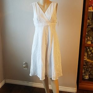 Nwt Rabbit designs size 12 eyelet lace dress